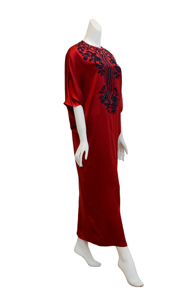 Rent: Studio 133 by Biyan Red Satin Kaftan