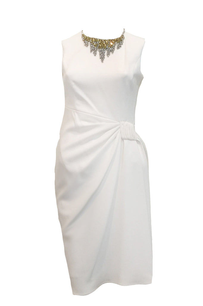 Rent: Teri Jon White Cocktail Dress