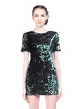 Topshop - Buy: Sequin Mini Dress-The Dresscodes - 1