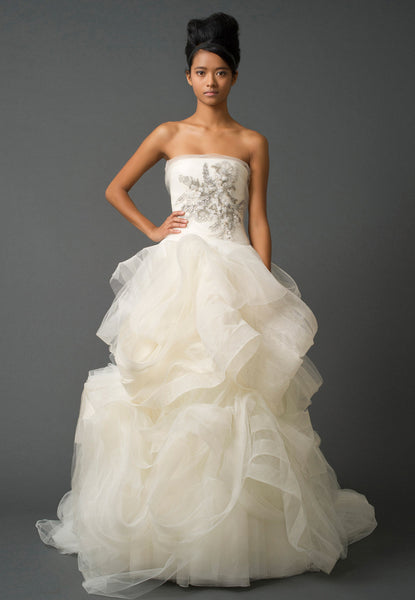 Vera Wang - Rent: Gisele Wedding Gown-The Dresscodes - 1