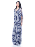 Votum by Sebastian Gunawan - Buy: Blue Print Kaftan-The Dresscodes - 2
