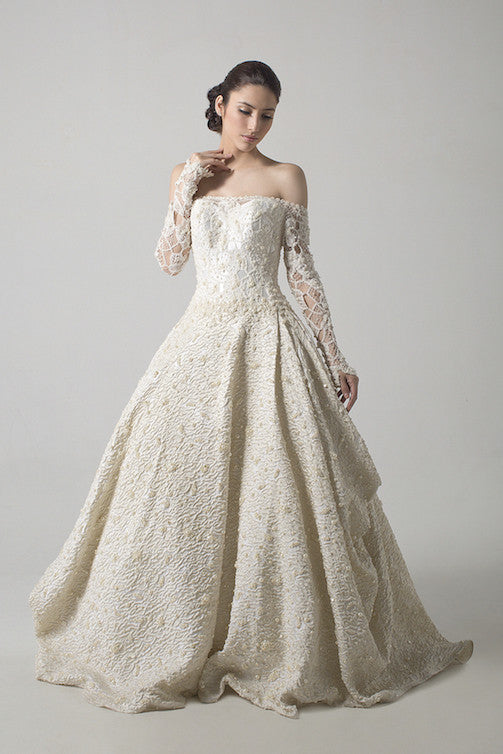 Windy Chandra Couture - Buy: Pearl Wedding Gown-The Dresscodes - 1
