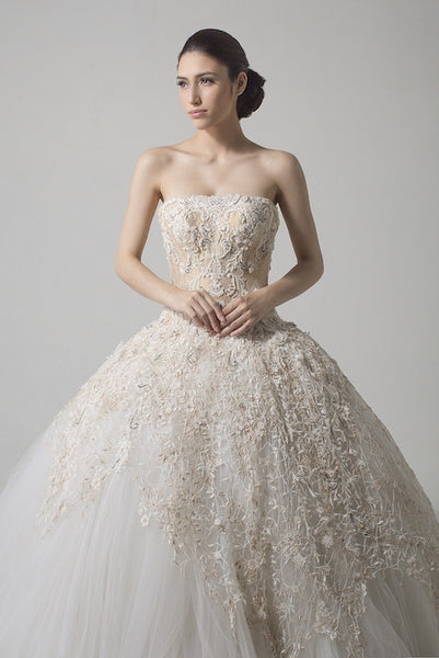 Windy Chandra Couture - Buy: Baroque Wedding Gown-The Dresscodes - 1