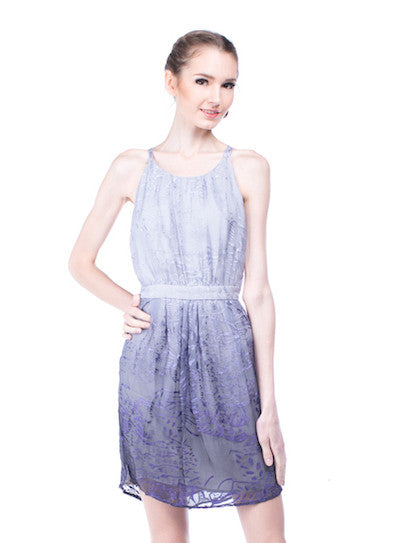 Walter - Rent: Violet Ombre Dress-The Dresscodes - 1