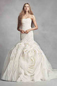 Rent: Vera Wang WHITE - Layered Organza Ivory Wedding Dress