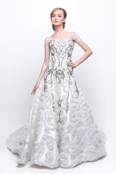 Windy Chandra Couture - Buy: Adelina Wedding Gown-The Dresscodes - 1