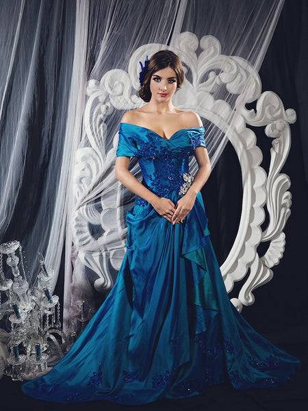 Windy Chandra Couture - Rent: Windy Chandra Royal Elizabeth Gown-The Dresscodes - 1