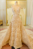 Rent: YEFTA GUNAWAN Convertible Sleeveless Wedding Mermaid Gown