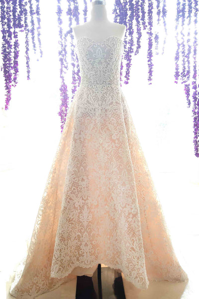 Rent: Yefta Gunawan - A - Line Full Embroidered Wedding Gown