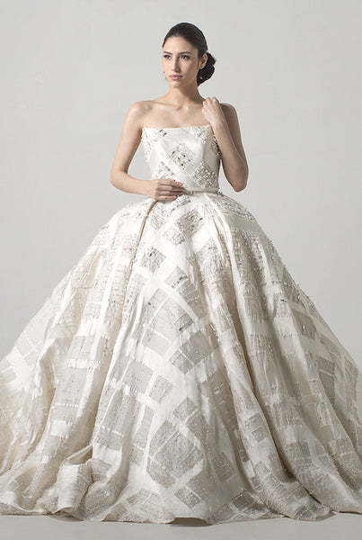 Yefta Gunawan - Rent: Yefta Gunawan Eve Diamond Wedding Ball Gown-The Dresscodes - 1