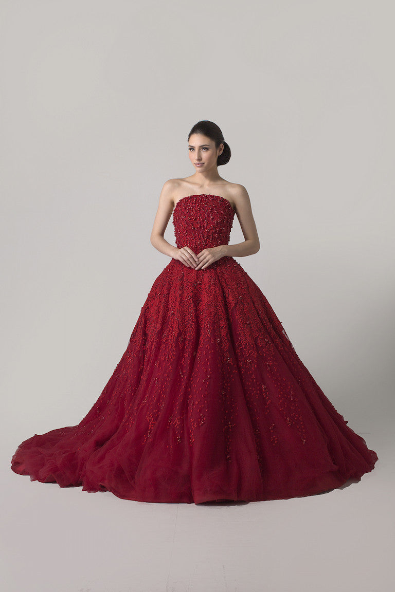 Yefta Gunawan - Rent: Red Ball Gown-The Dresscodes - 1