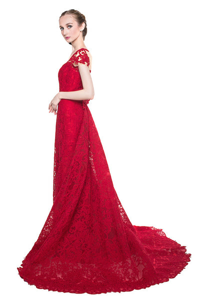 Yefta Gunawan - Rent: Yefta Gunawan Red Butterfly Gown-The Dresscodes - 1