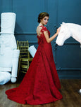 Yefta Gunawan - Rent: Yefta Gunawan Red Butterfly Gown-The Dresscodes - 4