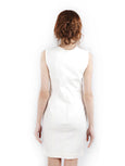 Yigal Azrou?_l - Rent: Yigal Azrouel Cotton Tech White Dress-The Dresscodes - 2