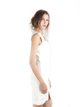 Yigal Azrou?_l - Rent: Yigal Azrouel Cotton Tech White Dress-The Dresscodes - 3