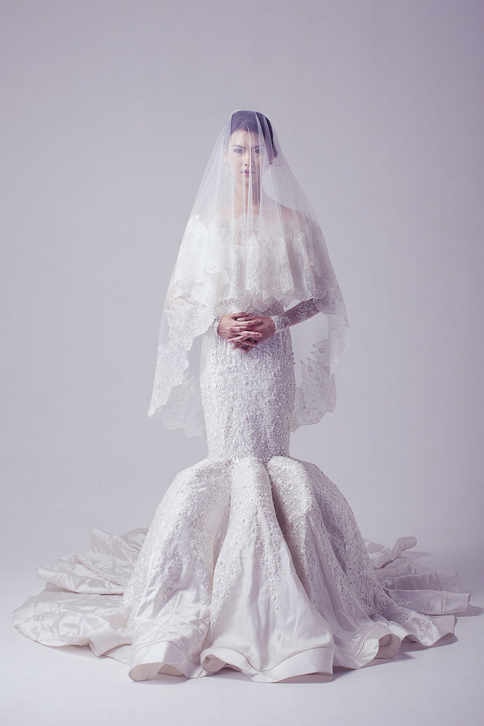 Yogie Pratama - Buy: Sabrina Mermaid Wedding Gown-The Dresscodes - 1
