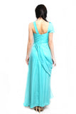 Yola - Buy: Beaded Blue Green Gown-The Dresscodes - 2