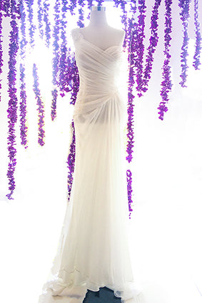 Rent : Zansis - Off Shoulder Loose Gown Wedding Dress
