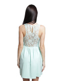 Zara - Buy: Mint Green Lace Dress-The Dresscodes - 2