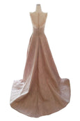 Rent: Gisela Privee - Nude Fully Embellishment Gown