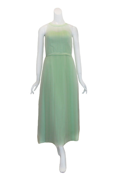 Rent: Seraglio Couture Green Bridesmaids Sleeveless Tulle Dress