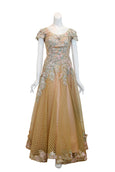 Rent: Hwie Hong -  Rose Gold Embellishment Gown