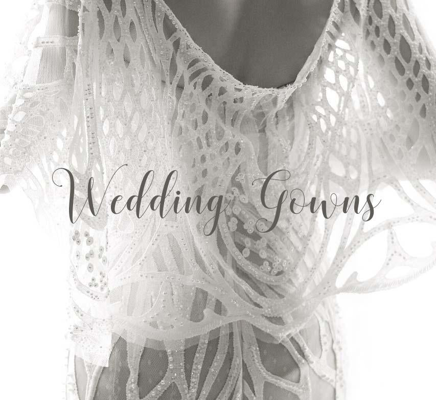 <b>WEDDING GOWNS</b>