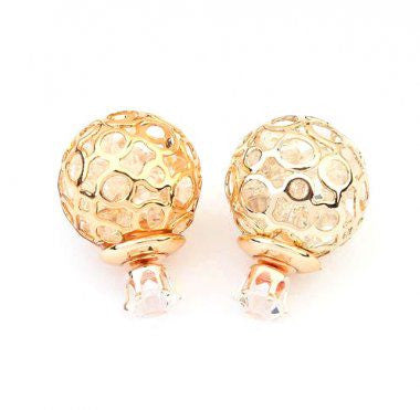 Double Bubble Earrings (Various Colours)