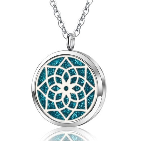 Lotus Pendant Locket