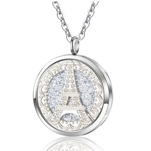 Eiffel Tower Pendant Locket