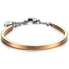 Rose Gold Cuff Bangle/Bracelet