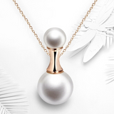 Pearl Perfume Pendant Necklace
