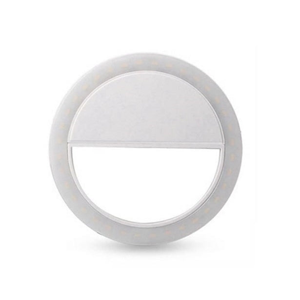 Selfie Ring Light (White, Pink, Blue)