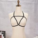 Nyx Bralette Harness (Black)