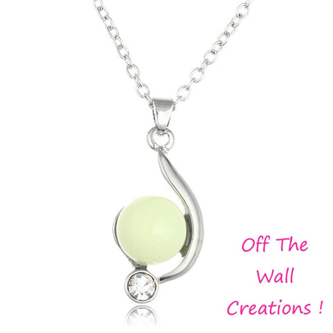 Fresh Glow Necklace - Blue