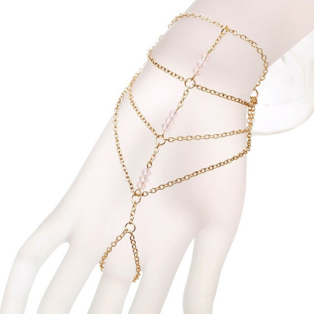Slave Ring/Hand Harness Bracelet