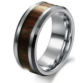 Wooden - Tungsten Ring