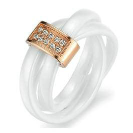 Ladies Ring - Rose Gold