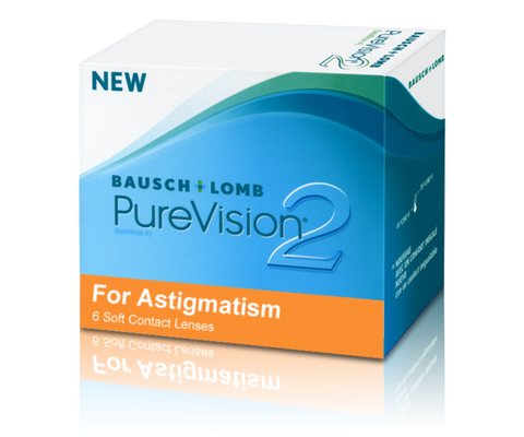 Pure Vision 2 for Astigmatism 6-Pack