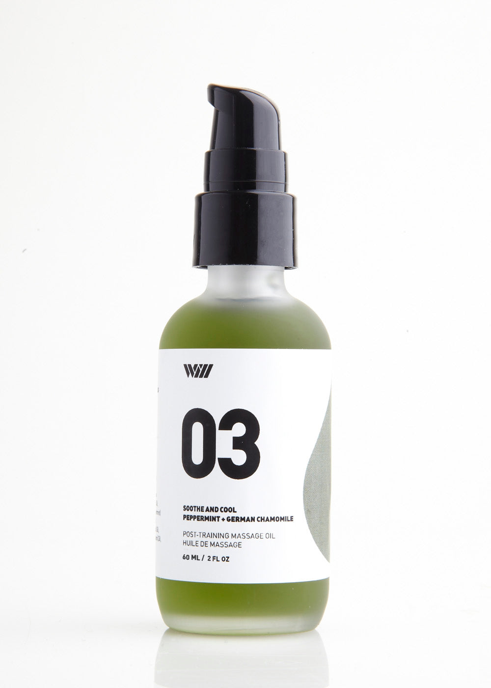 03 Soothe and Cool Massage Oil | Peppermint and German Chamomile