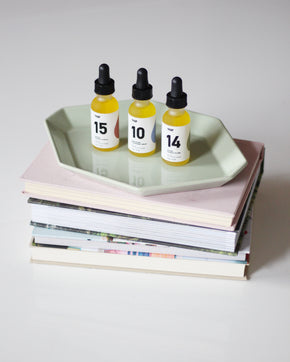 10 Sensitive Skin | Face Oil Serum | Frankincense and Borage