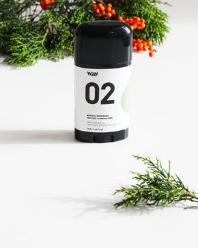 02 Natural Deodorant | Tea Tree + Pumpkin Seed
