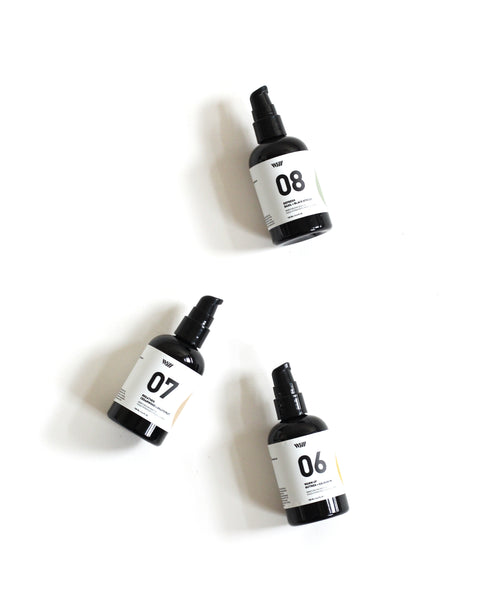 08 Refresh | Moisturising Body Oil | Basil + Black Spruce