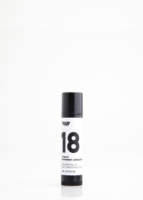 18 Lip Balm | Peppermint + Bergamot
