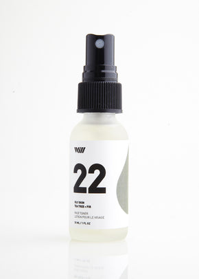 22 Oily Skin | Face Toner | Tea Tree + Fir