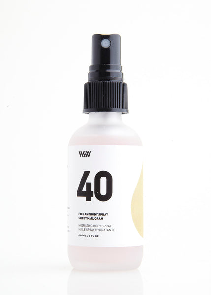 40 Hydrating Face + Body Spray | Sweet Majoram