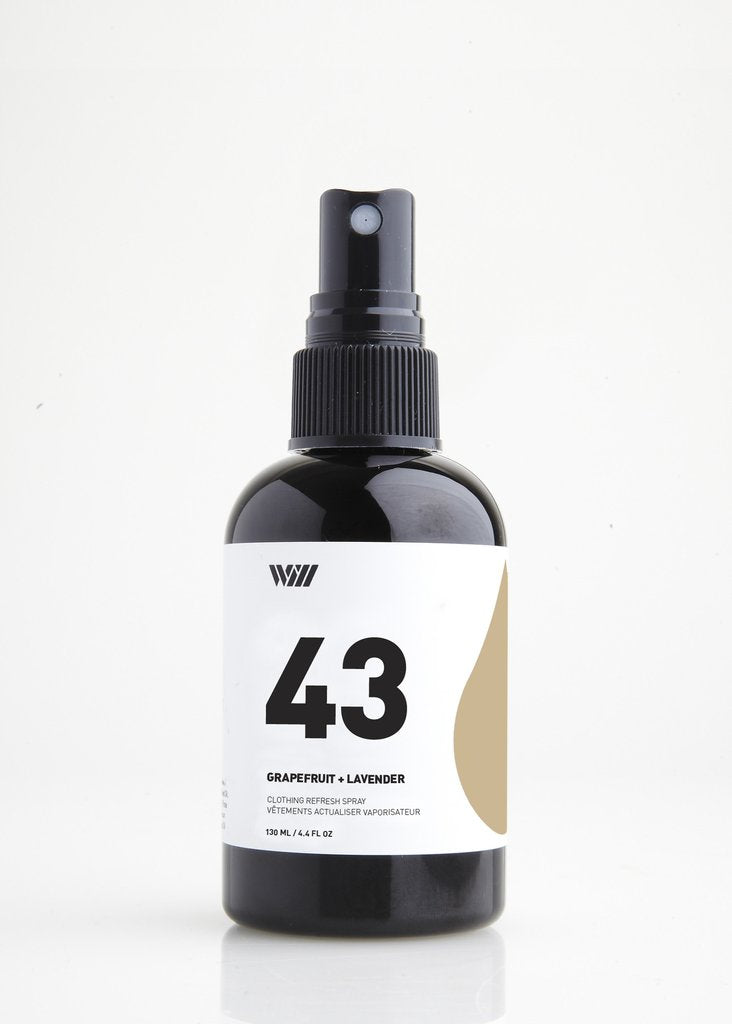 43 Clothing Refresh Spray | Grapefruit + Lavender