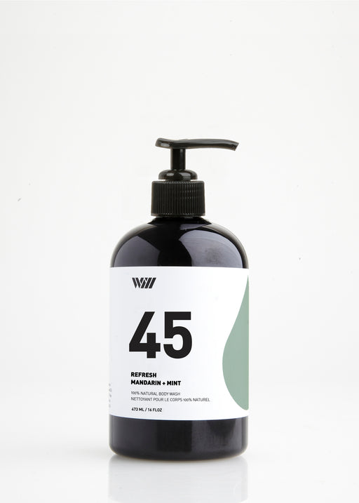 45 Refresh | Natural Body Wash | Grapefruit + Lavender