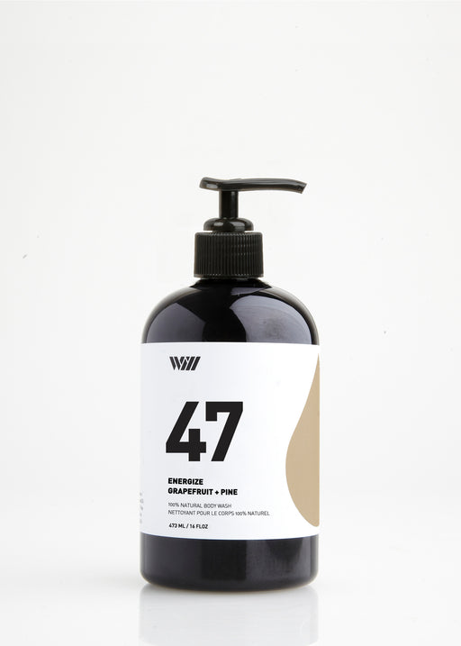 47 Energize | Natural Body Wash | Grapefruit + Pine