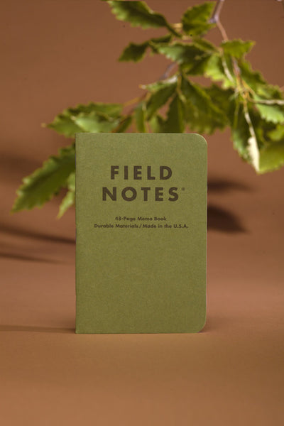 Field Notes Shenandoah Edition - 3 Pack - Langsom